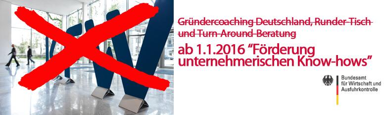 KfW-Antrag Gründercoaching Deutschland