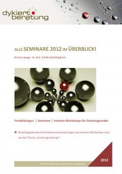 Neues Seminarangebot für das 1.Halbjahr 2012