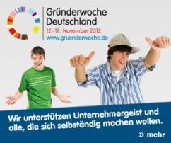 dykiert beratung auch in 2012 offizieller Partner der Gründerwoche Deutschland