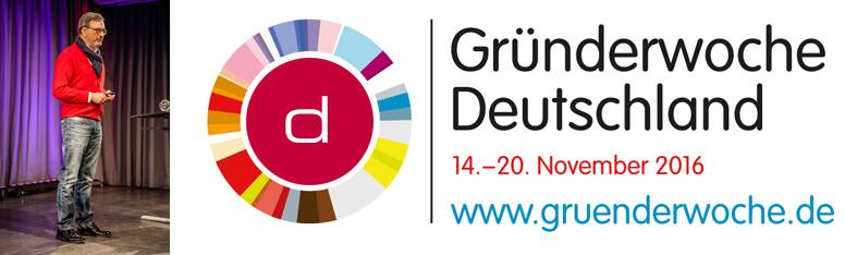 Gründerwoche Deutschland 2016