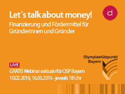 Let´s talk about money!-Broschure