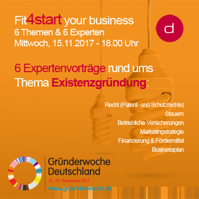 Fit4start your Business 2017